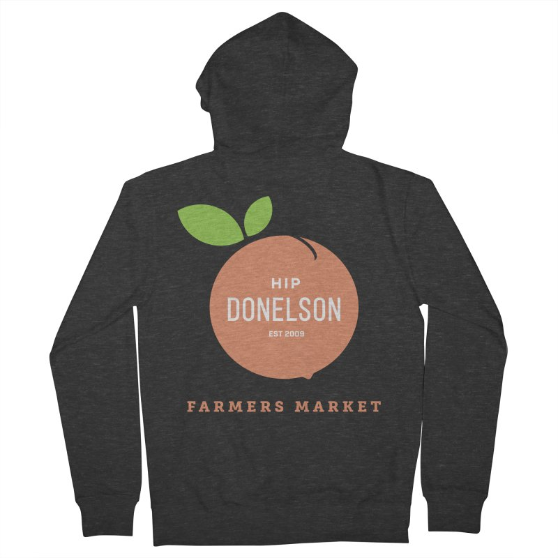 Farmers Market Logo Women's French Terry Zip-Up Hoody by Hip Donelson Farmers Market