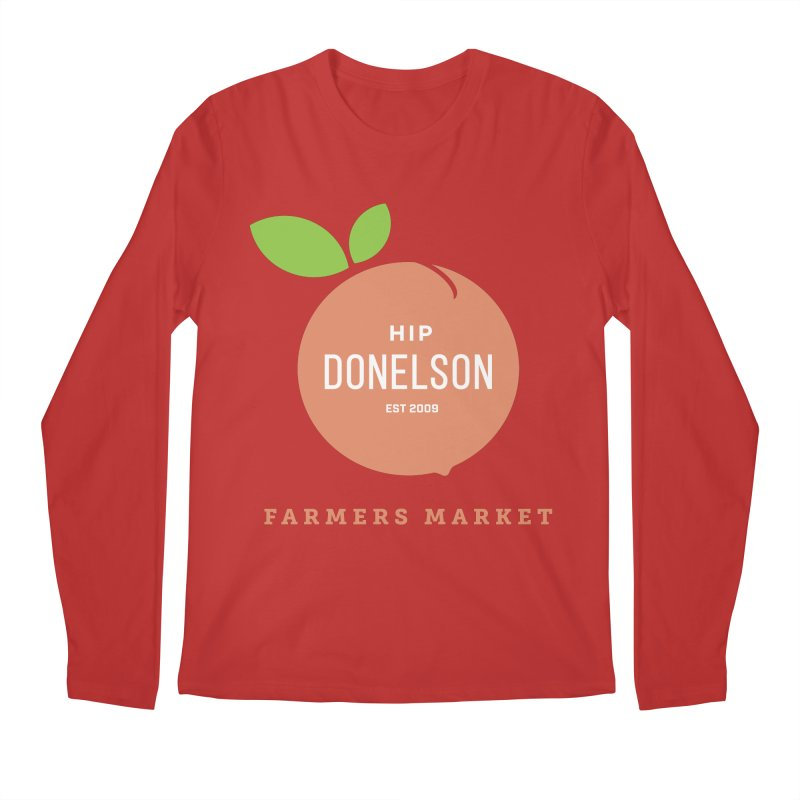 Farmers Market Logo Men's Regular Longsleeve T-Shirt by Hip Donelson Farmers Market
