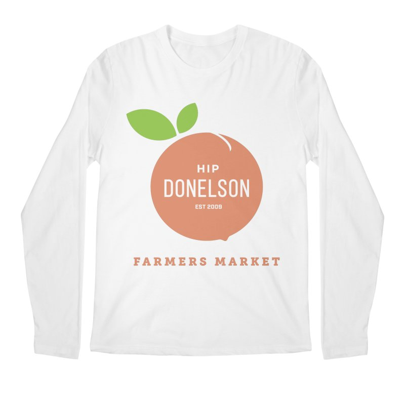 Farmers Market Logo Men's Regular Longsleeve T-Shirt by Hip Donelson Farmers Market