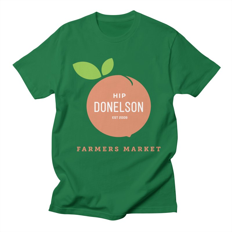 Farmers Market Logo Men's Regular T-Shirt by Hip Donelson Farmers Market