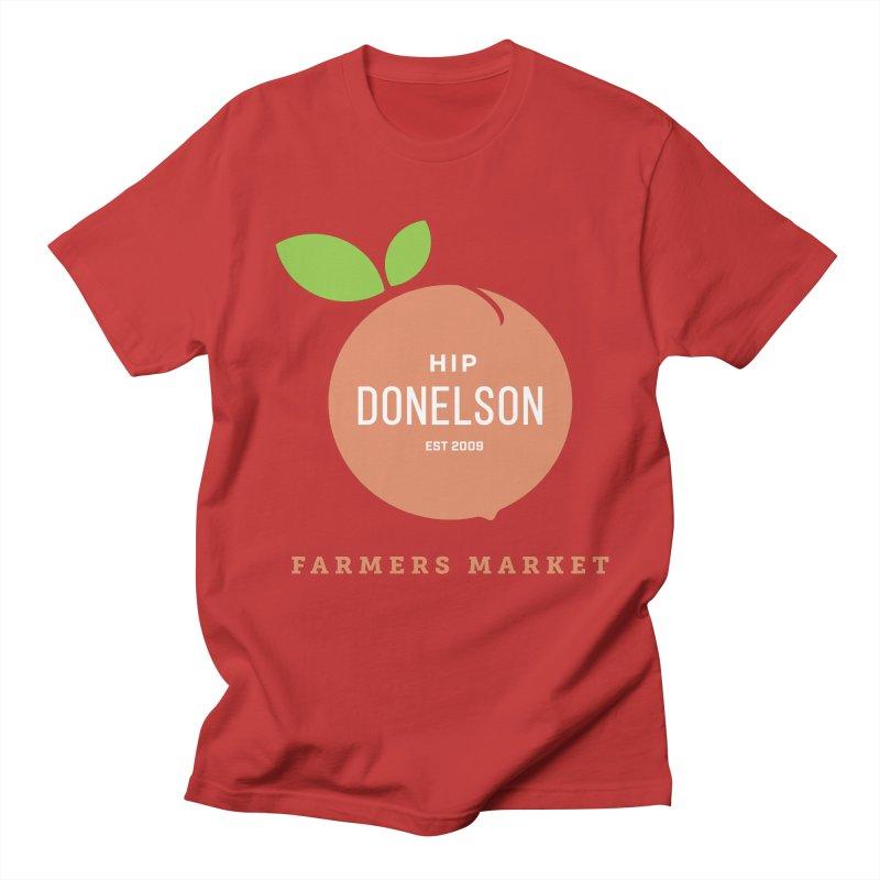 Farmers Market Logo Men's Regular T-Shirt by Hip Donelson Farmers Market
