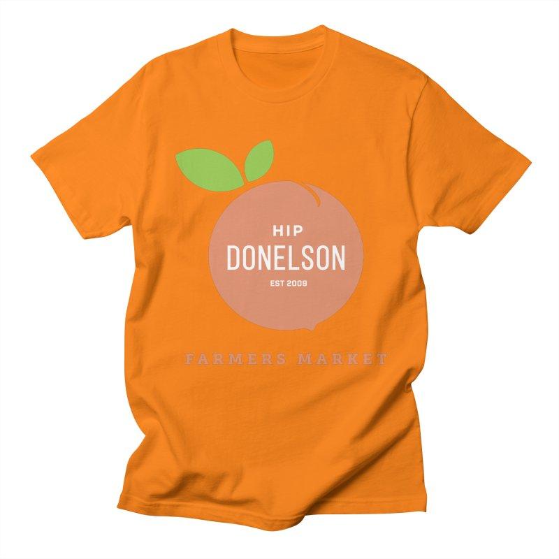 Farmers Market Logo Women's Regular Unisex T-Shirt by Hip Donelson Farmers Market