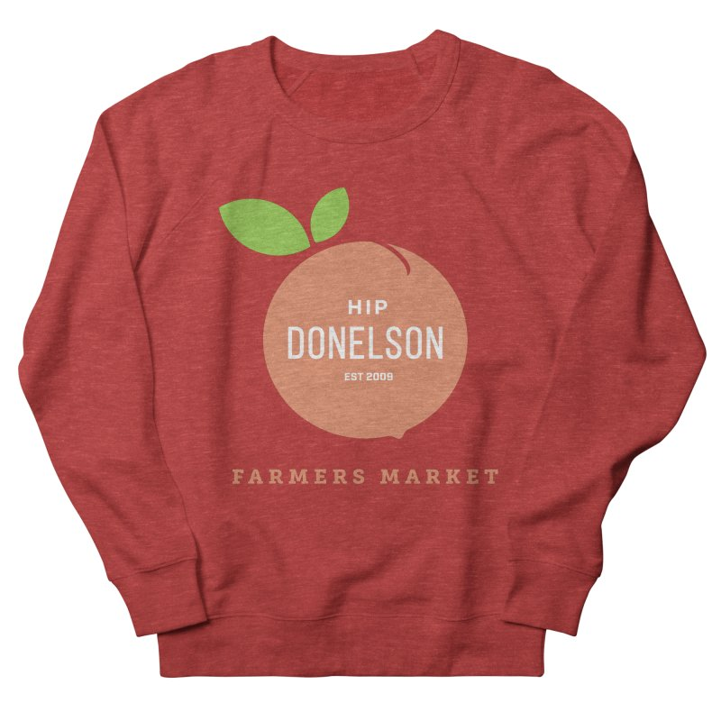 Farmers Market Logo Women's French Terry Sweatshirt by Hip Donelson Farmers Market