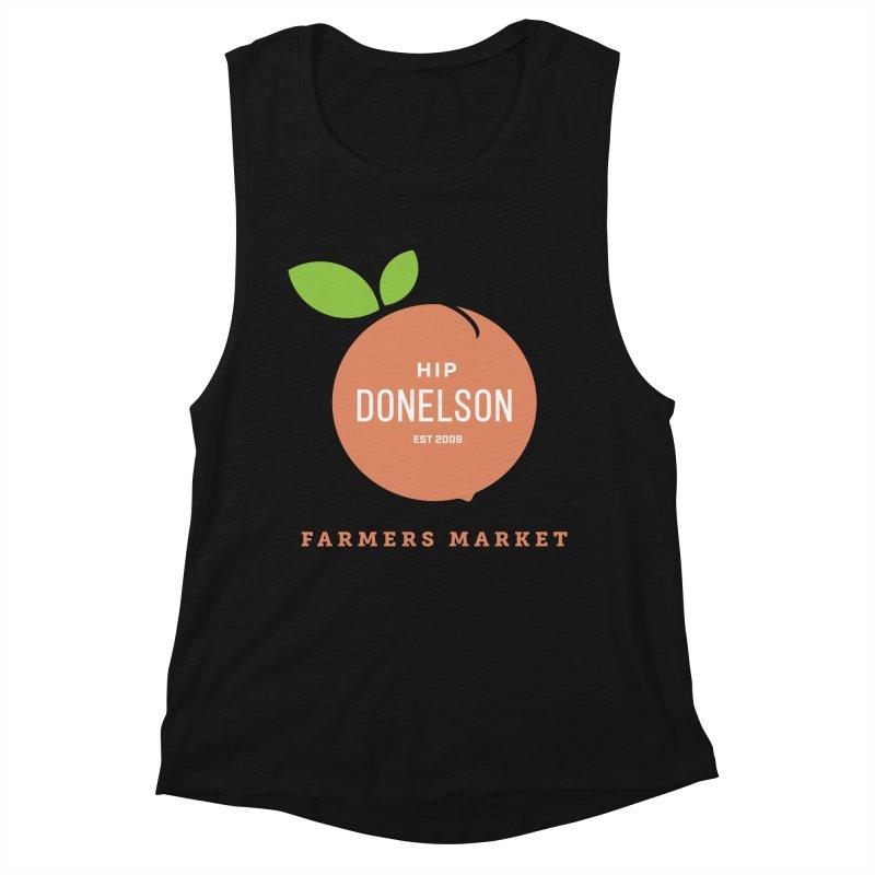 Farmers Market Logo Women's Tank by Hip Donelson Farmers Market