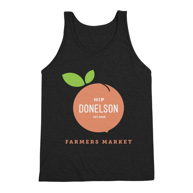 Farmers Market Logo Men's Tank by Hip Donelson Farmers Market