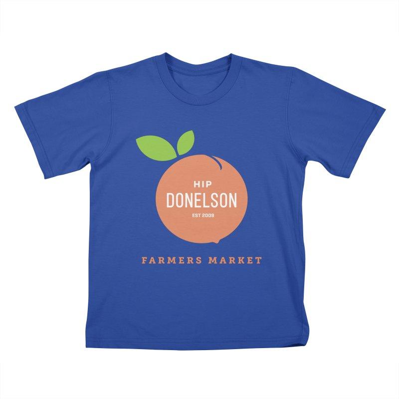 Farmers Market Logo Kids T-Shirt by Hip Donelson Farmers Market