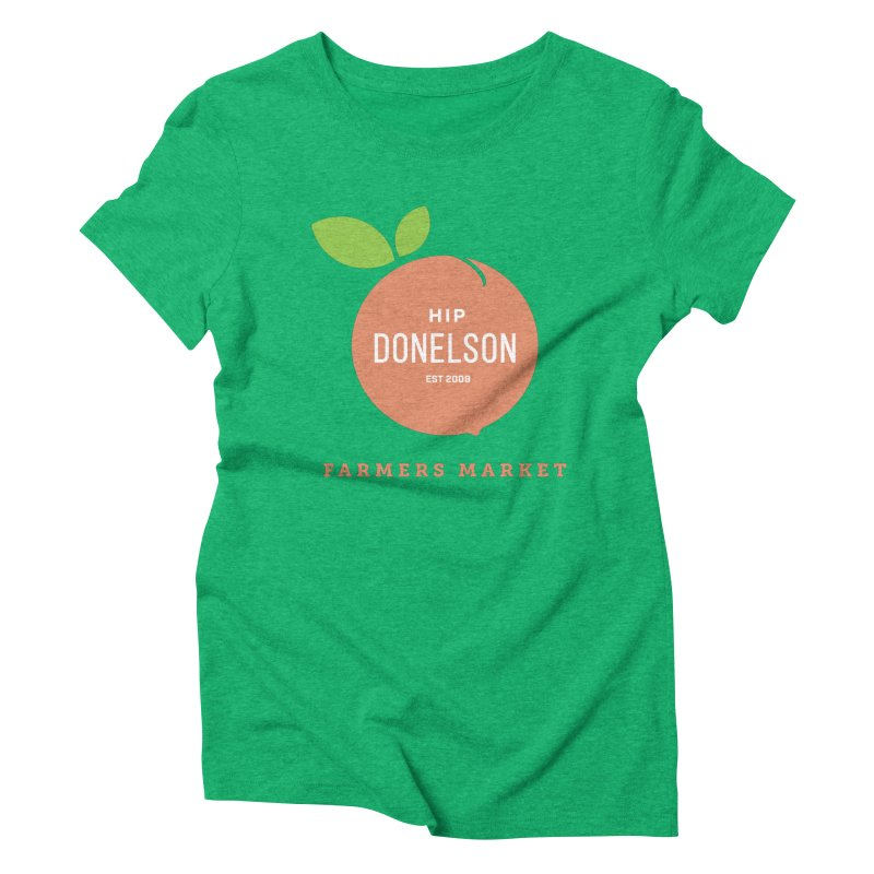 Farmers Market Logo Women's Triblend T-Shirt by Hip Donelson Farmers Market