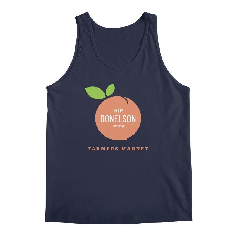 Farmers Market Logo Men's Regular Tank by Hip Donelson Farmers Market