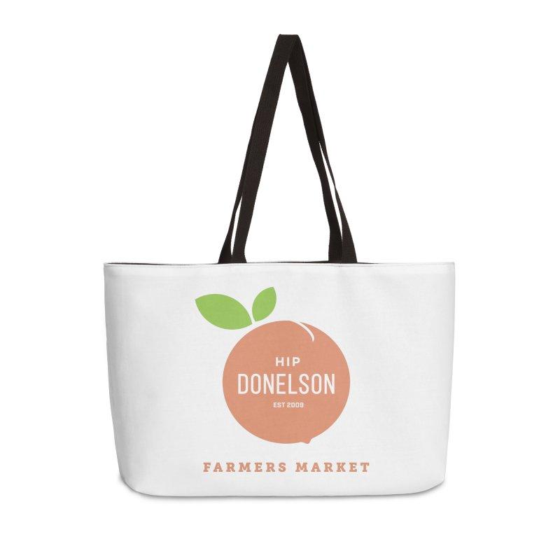 Farmers Market Logo Accessories Weekender Bag Bag by Hip Donelson Farmers Market