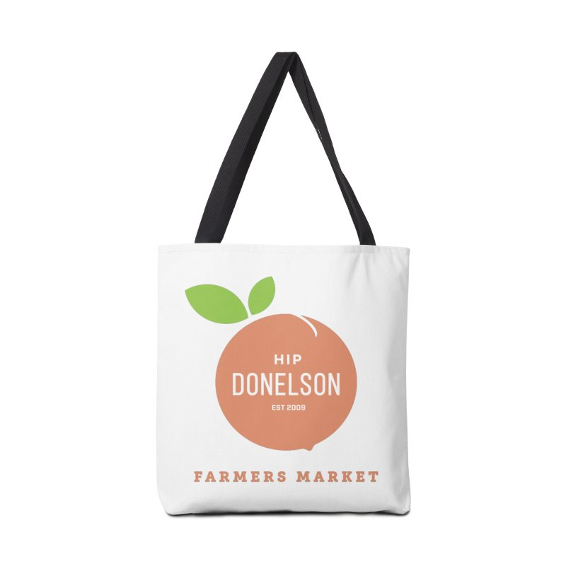 Farmers Market Logo Accessories Tote Bag Bag by Hip Donelson Farmers Market