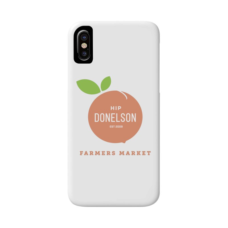 Farmers Market Logo Accessories Phone Case by Hip Donelson Farmers Market