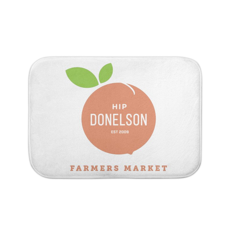Farmers Market Logo Home Bath Mat by Hip Donelson Farmers Market