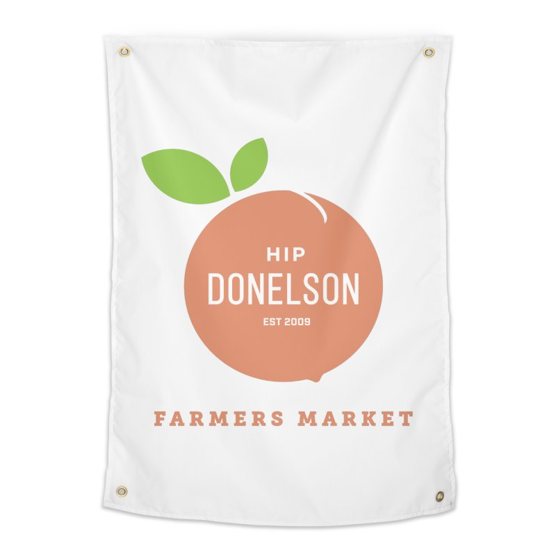 Farmers Market Logo Home Tapestry by Hip Donelson Farmers Market