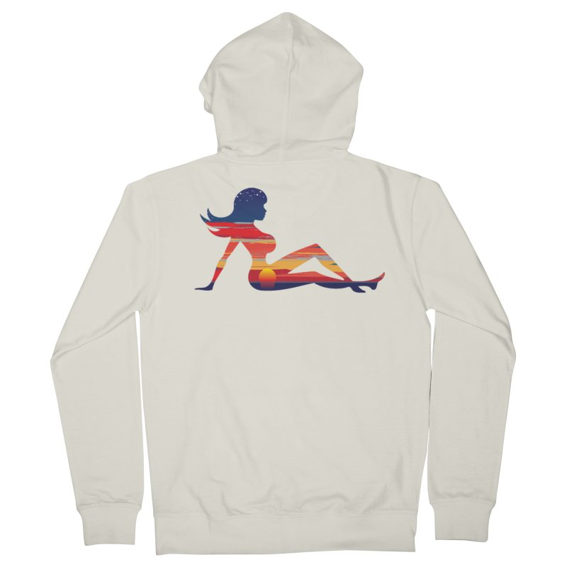 Sky Porn Women's French Terry Zip-Up Hoody by hipsterzero's Artist Shop