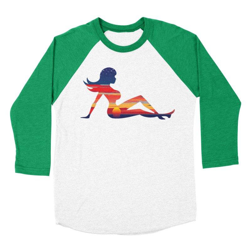 Sky Porn Women's Baseball Triblend Longsleeve T-Shirt by hipsterzero's Artist Shop