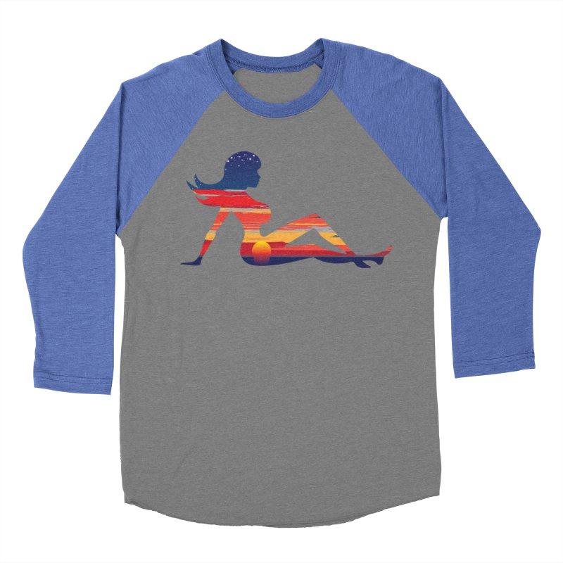Sky Porn Men's Baseball Triblend Longsleeve T-Shirt by hipsterzero's Artist Shop