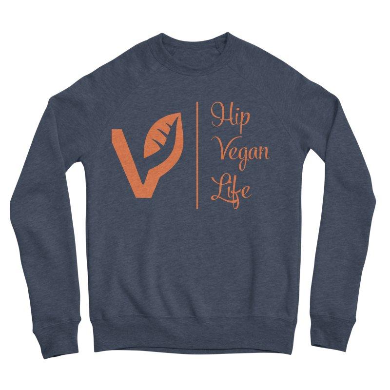 Logo Women's Sponge Fleece Sweatshirt by hipveganlife Apparel & Accessories