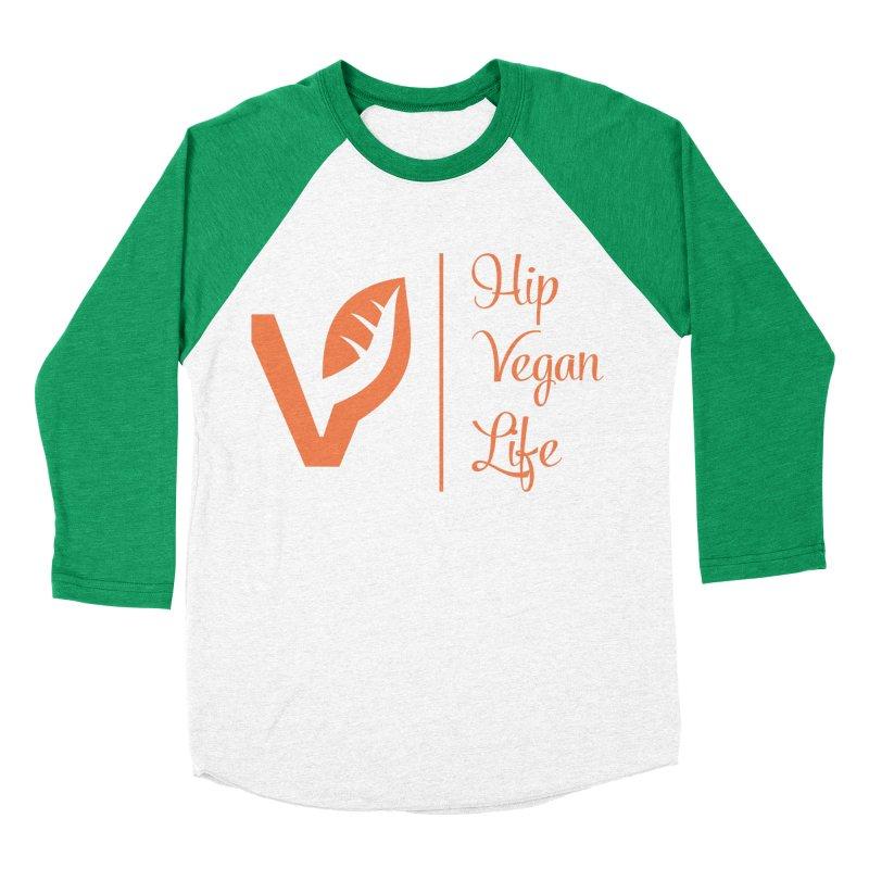 Logo Women's Baseball Triblend Longsleeve T-Shirt by hipveganlife Apparel & Accessories
