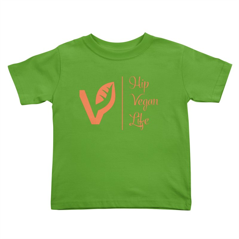 Logo Kids Toddler T-Shirt by hipveganlife Apparel & Accessories