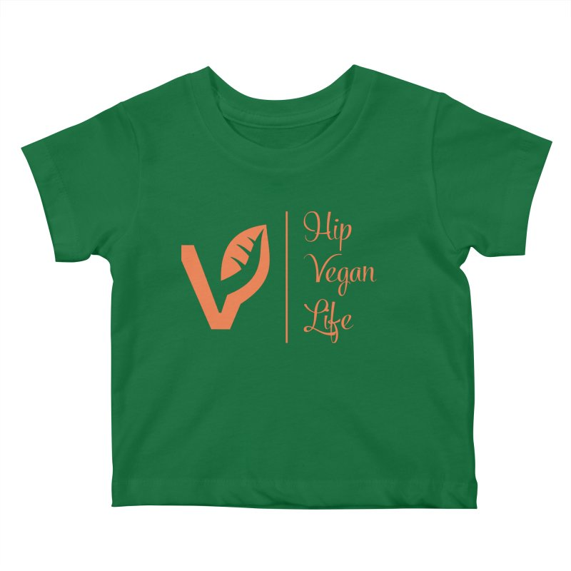 Logo Kids Baby T-Shirt by hipveganlife Apparel & Accessories
