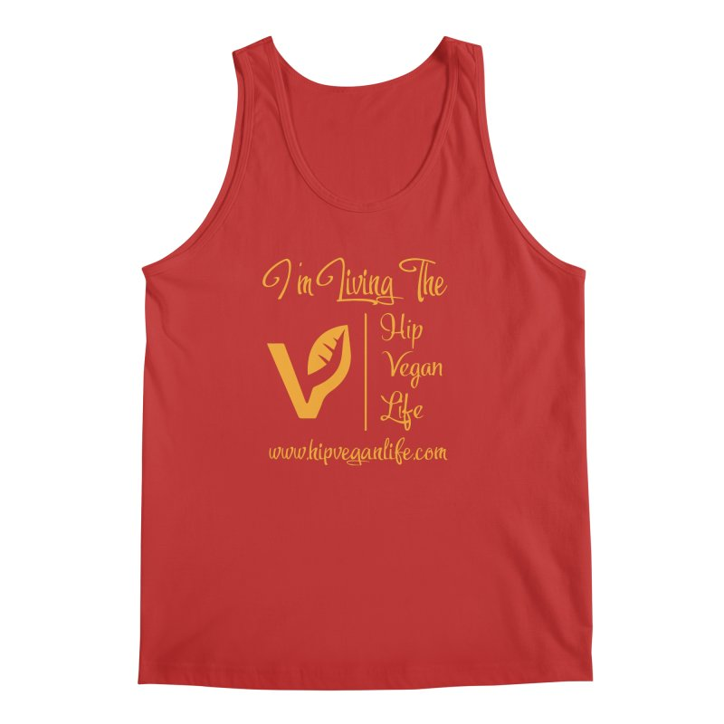 I'm Living The Hip Vegan Life Men's Regular Tank by hipveganlife Apparel & Accessories