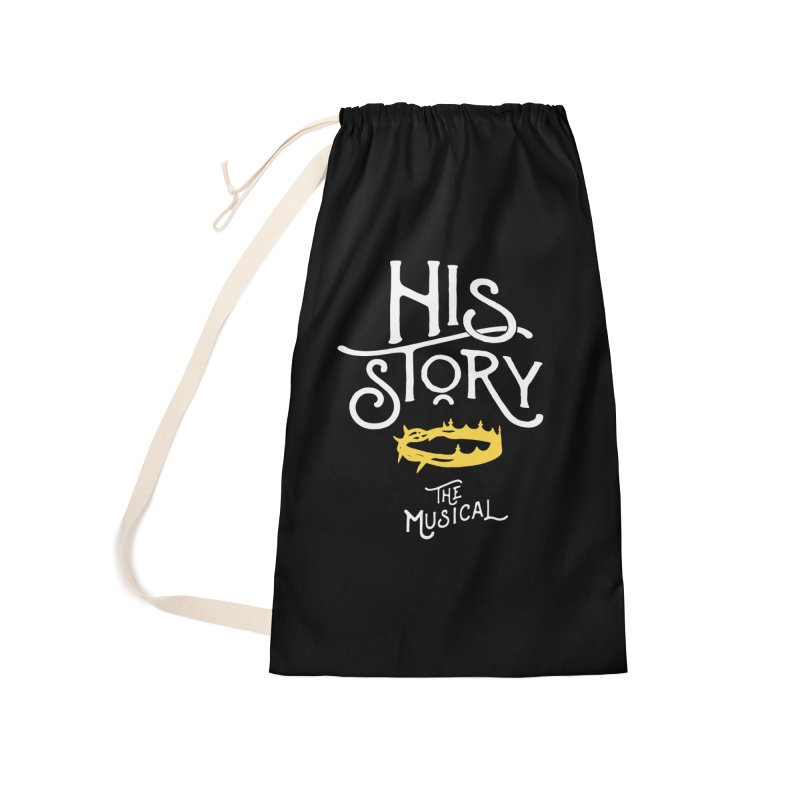 His Story Official Logo Accessories Laundry Bag Bag by His Story The Musical - Merch