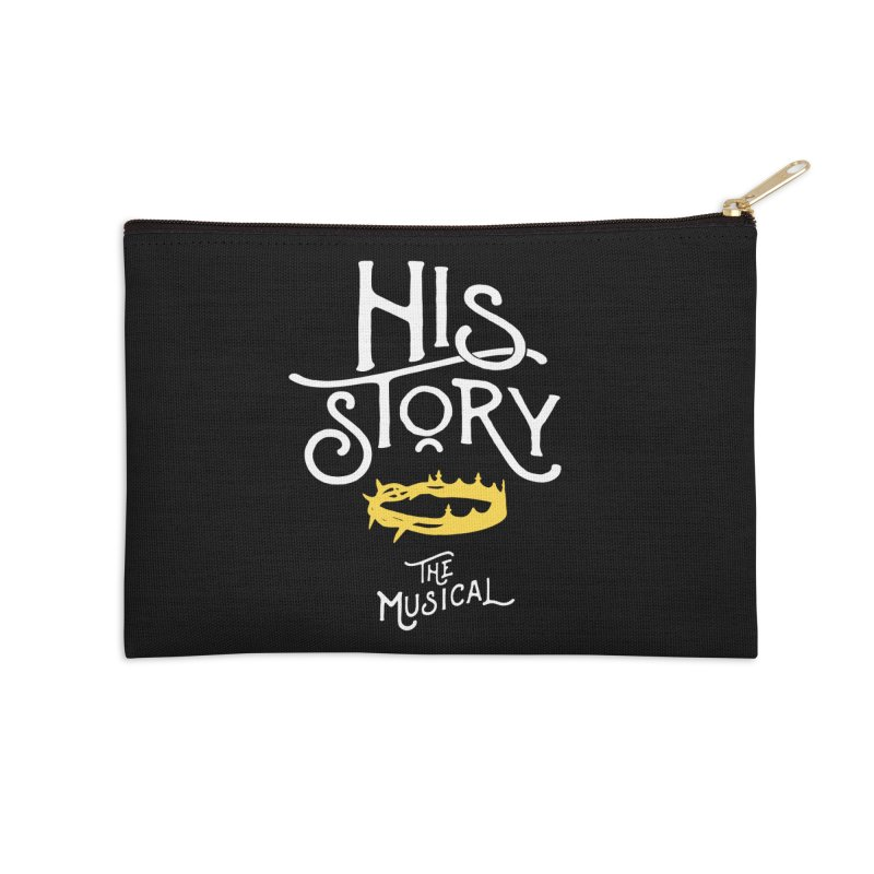 His Story Official Logo Accessories Zip Pouch by His Story The Musical - Merch