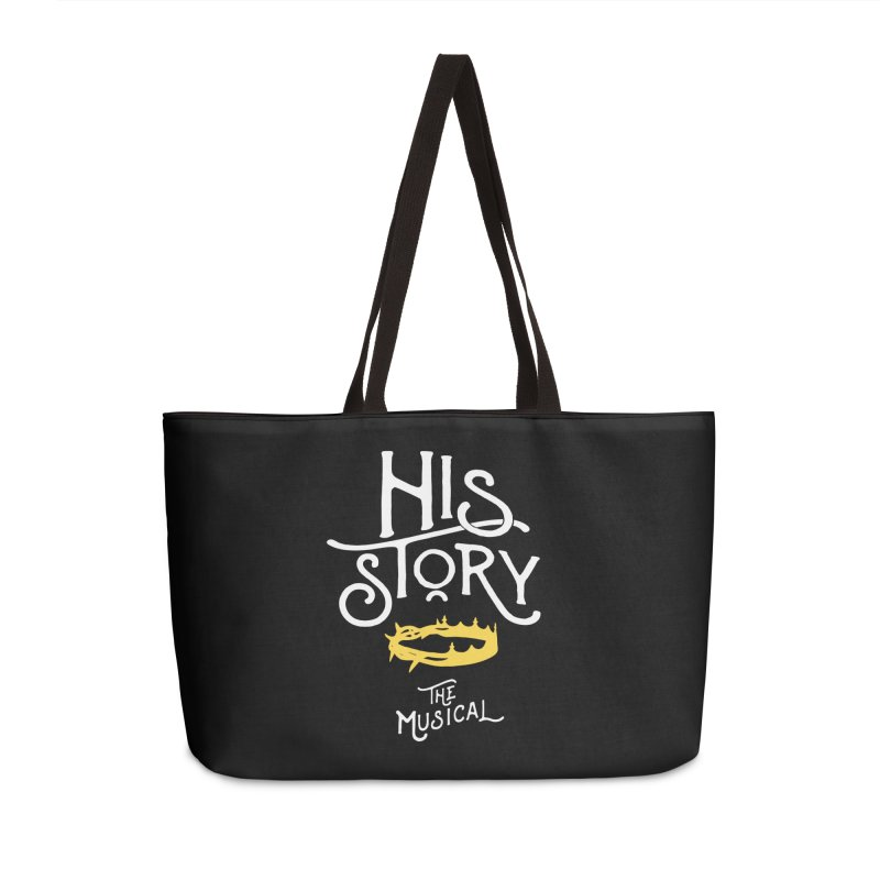 His Story Official Logo Accessories Weekender Bag Bag by His Story The Musical - Merch