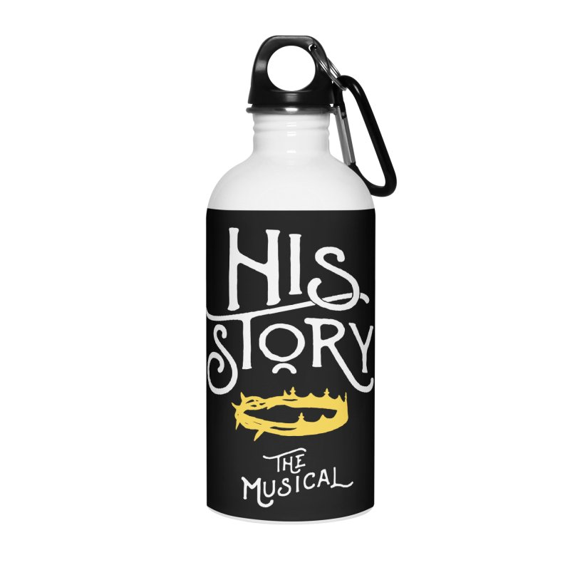 His Story Official Logo Accessories Water Bottle by His Story The Musical - Merch