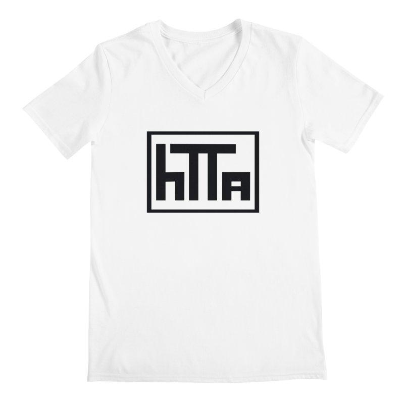 HTTA logo Men's V-Neck by Hi Top Athletics