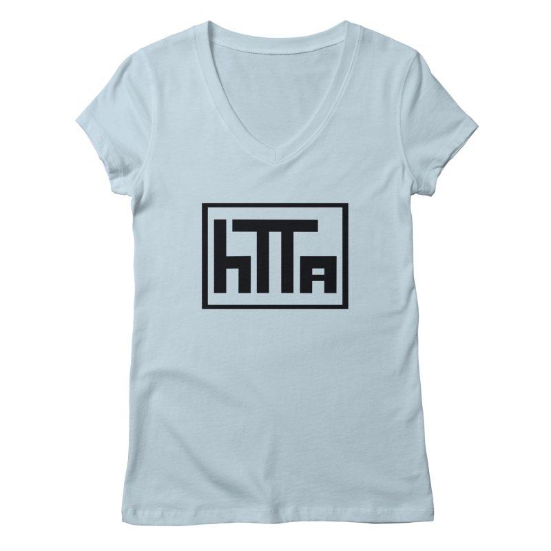 HTTA logo Women's V-Neck by Hi Top Athletics