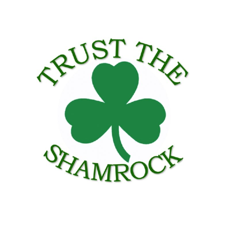 Trust the Shamrock Men's T-Shirt by Hi Top Athletics