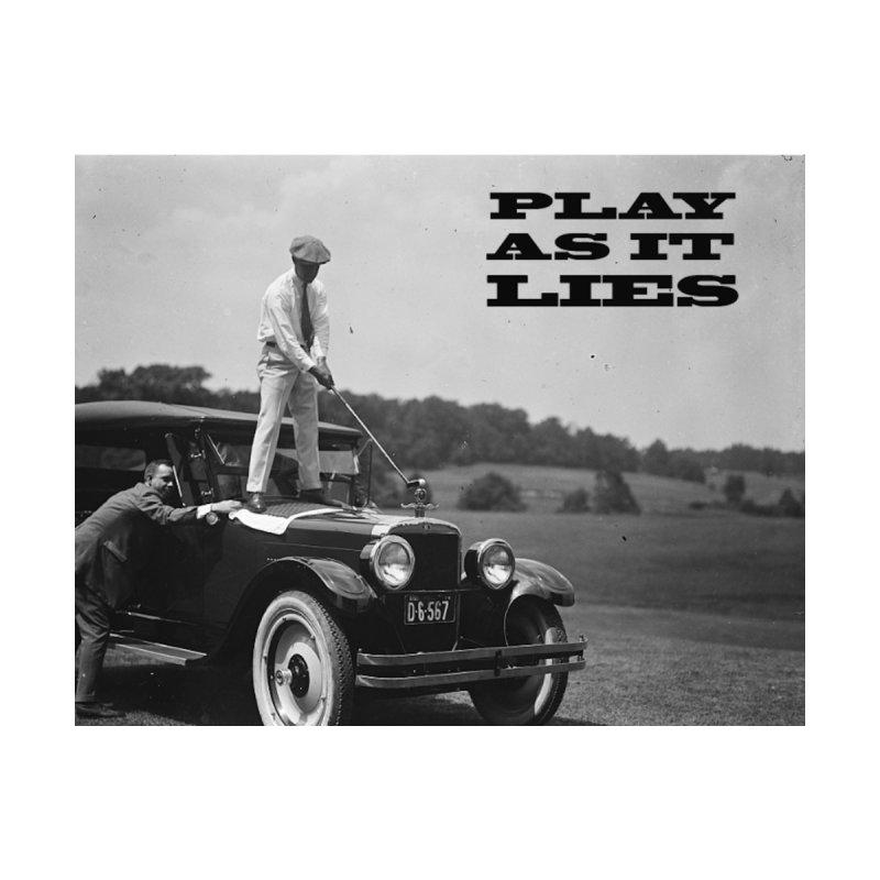 Play as it Lies Men's T-Shirt by Hi Top Athletics