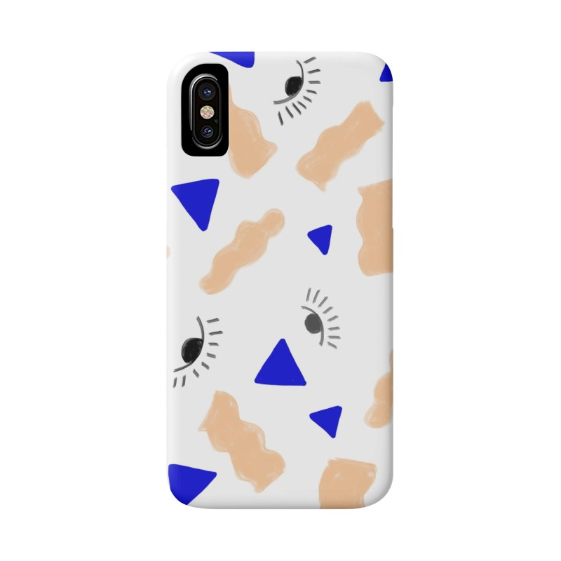 Eye Pattern Accessories Phone Case by hiyeshello's Artist Shop