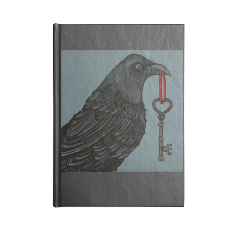 Raven Accessories Notebook by HM Artistic Creations Artist Shop