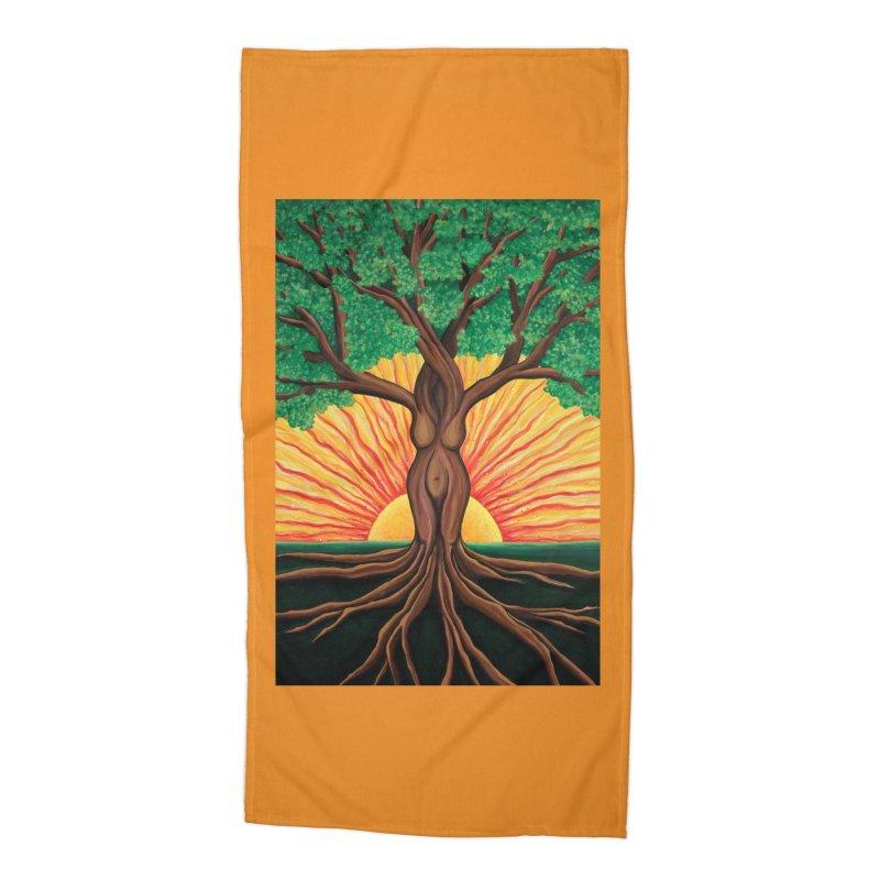 Summer Accessories Beach Towel by HM Artistic Creations Artist Shop