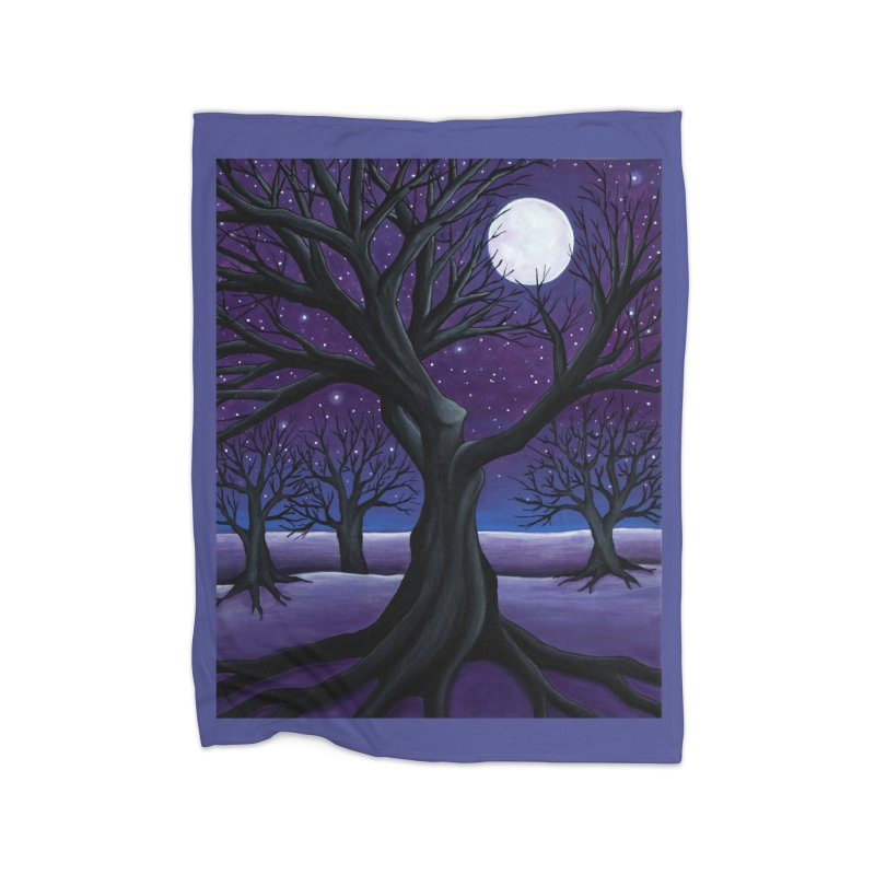Winter Home Blanket by HM Artistic Creations Artist Shop