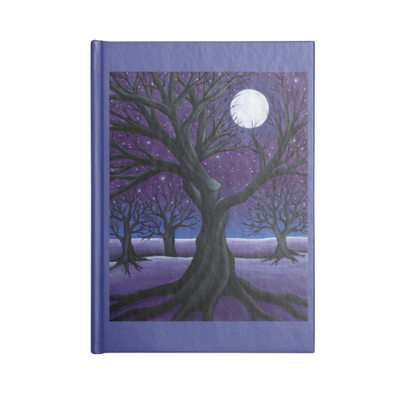 Winter Accessories Notebook by HM Artistic Creations Artist Shop