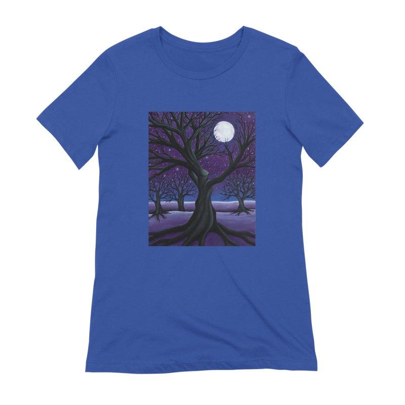 Winter Women's T-Shirt by HM Artistic Creations Artist Shop