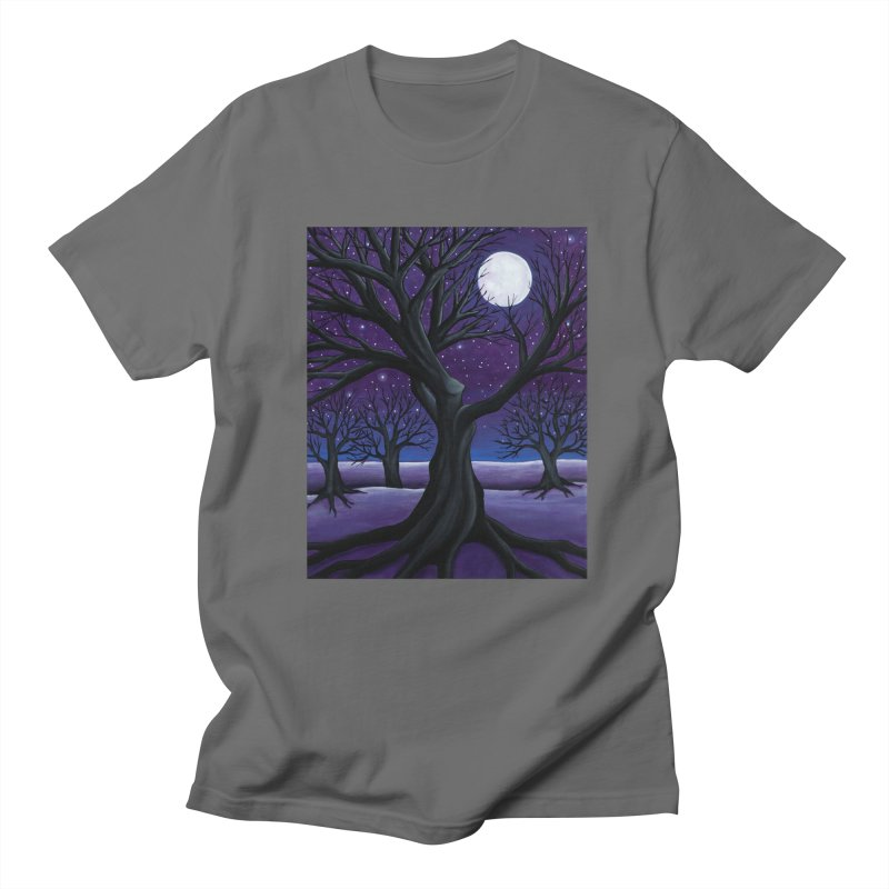 Winter Men's T-Shirt by HM Artistic Creations Artist Shop