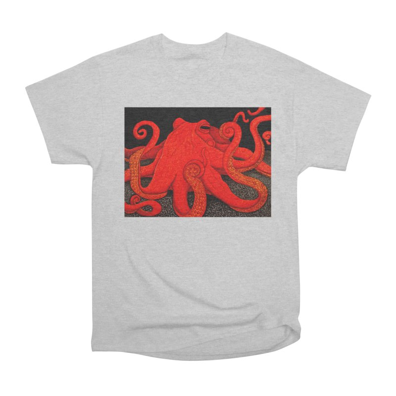 Giant Pacific Octopus Men's T-Shirt by HM Artistic Creations Artist Shop