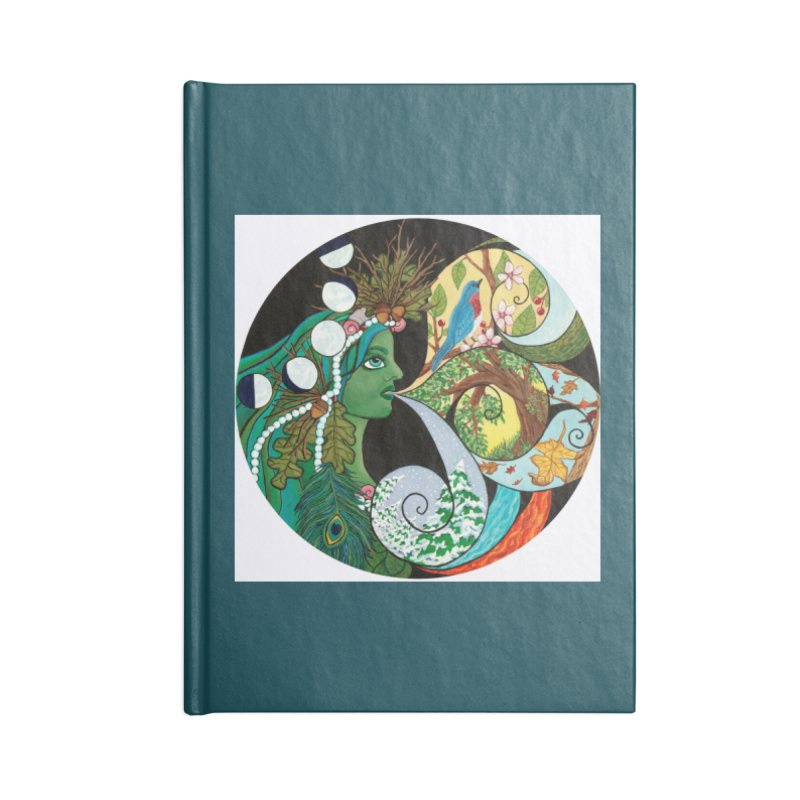 Mother Nature Accessories Notebook by HM Artistic Creations Artist Shop