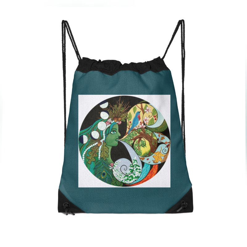 Mother Nature Accessories Bag by HM Artistic Creations Artist Shop
