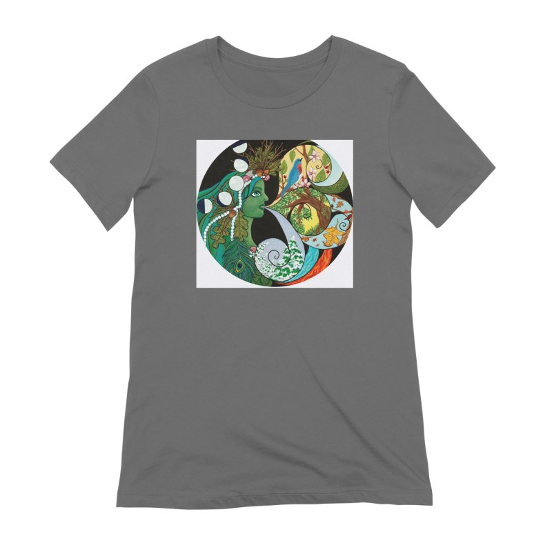 Mother Nature Women's T-Shirt by HM Artistic Creations Artist Shop