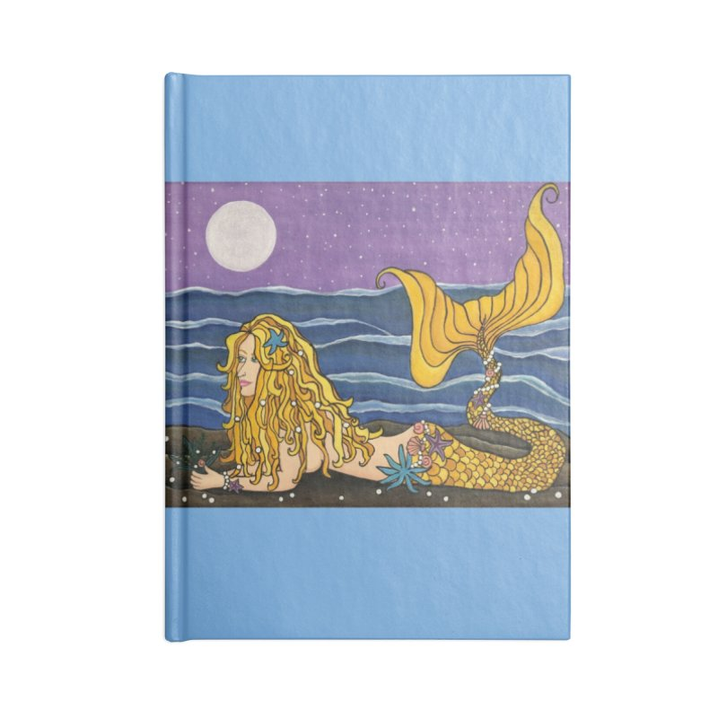 Mermaid Accessories Notebook by HM Artistic Creations Artist Shop