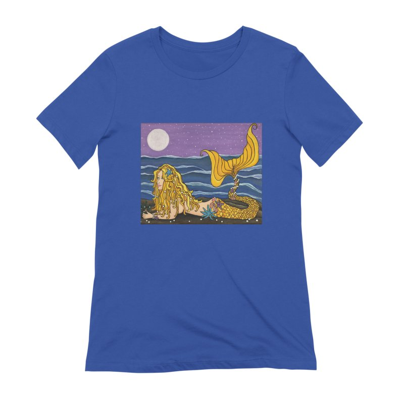 Mermaid Women's T-Shirt by HM Artistic Creations Artist Shop
