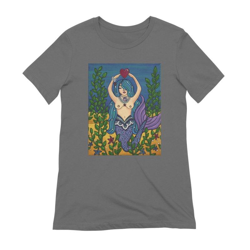 Water Women's T-Shirt by HM Artistic Creations Artist Shop
