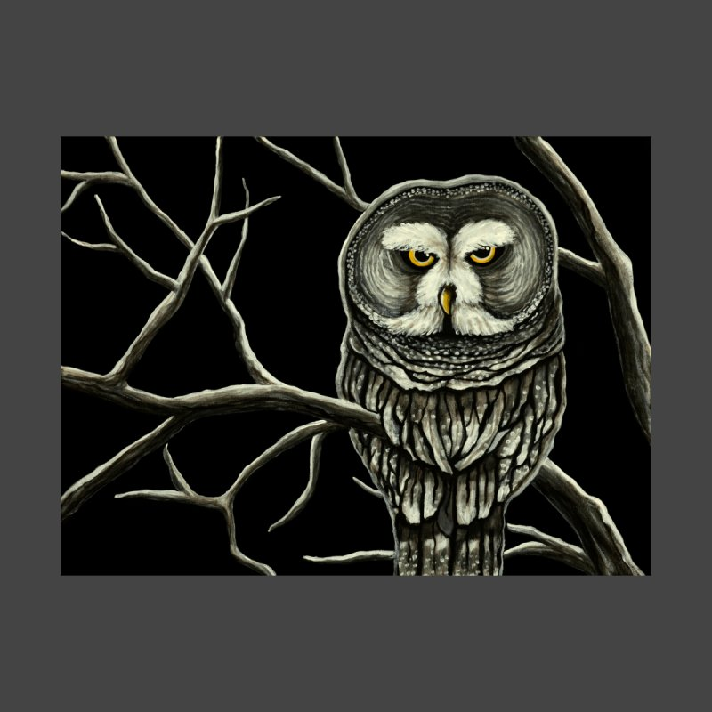 Grey Owl Women's T-Shirt by HM Artistic Creations Artist Shop