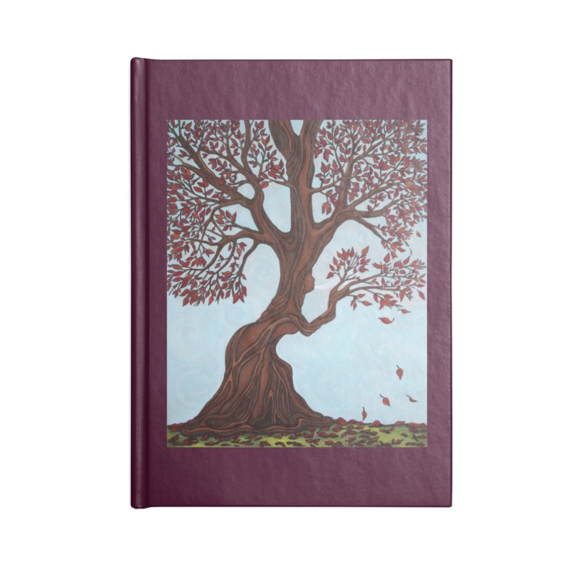 Fall Accessories Notebook by HM Artistic Creations Artist Shop
