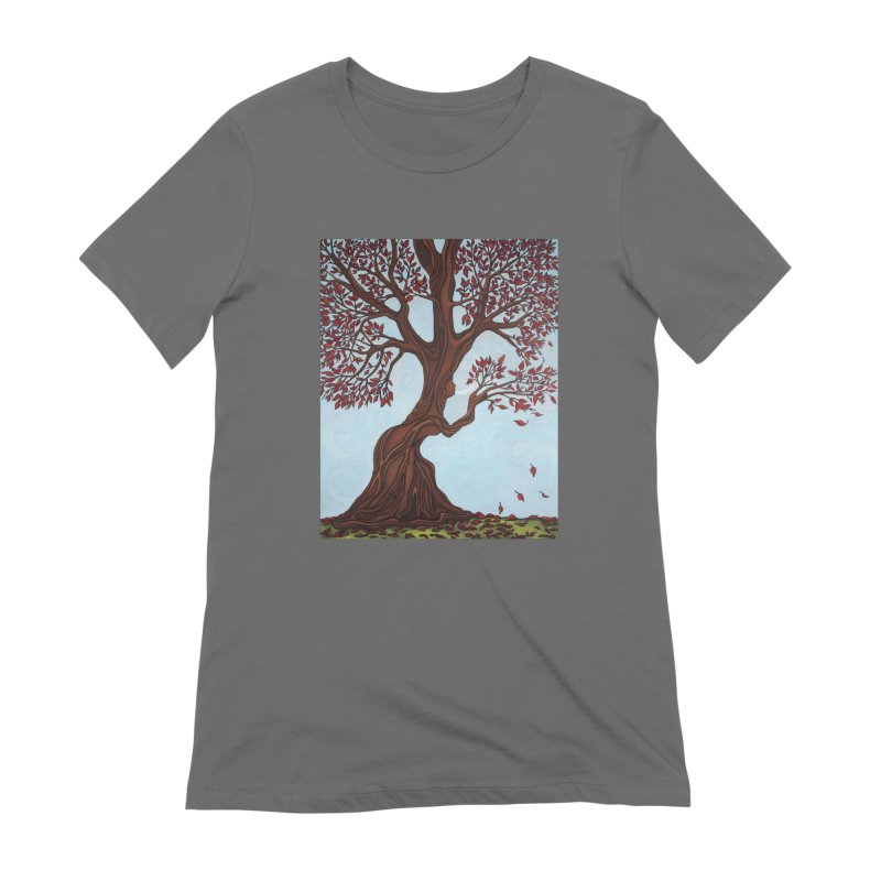 Fall Women's T-Shirt by HM Artistic Creations Artist Shop